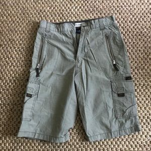 Cargo shorts *missing button*